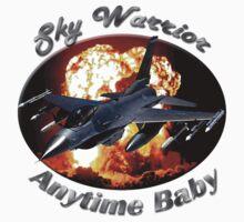 F-16 Falcon Sky Warrior One Piece - Short Sleeve