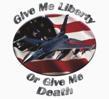 F-16 Falcon Give Me Liberty by hotcarshirts