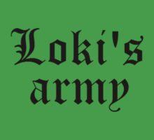 Loki's army by bowtieskeys