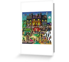 Super Mighty Boosh Greeting Card