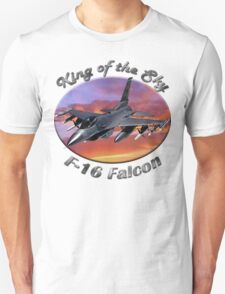 F-16 Falcon King Of The Sky T-Shirt