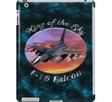 F-16 Falcon King Of The Sky iPad Case/Skin