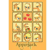 Faces of Applejack Photographic Print