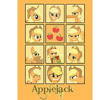 Faces of Applejack Photographic Print