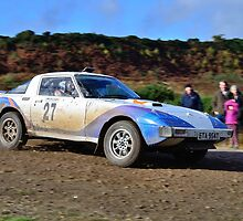 Mazda RX7 No 27 by Willie Jackson