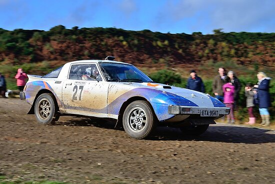 Mazda RX7 No 27 by Willie Jackson