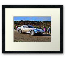 Mazda RX7 No 27 Framed Print