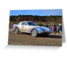 Mazda RX7 No 27 Greeting Card