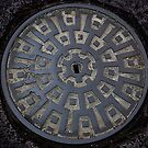 Full Metal Manhole by Mieke Vleeracker