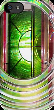 Dungeness Lighthouse Lens  by John Gaffen