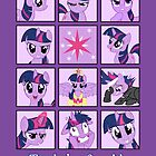 Faces of Twilight Sparkle by BowserBasher