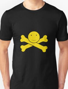 Smiley Crossbones Unisex T-Shirt