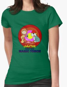Jamie and his Magic Touch Womens Fitted T-Shirt