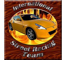 Nissan 370Z Street Racing Team Photographic Print