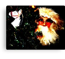 Zat You, Santa Claus? Canvas Print