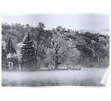 End of the Season  - Lake James, Angola, Indiana Poster