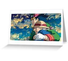 Howl's Moving Castle - Howl and Sophie Greeting Card