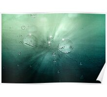 Underwater Ocean Abstract Art Poster