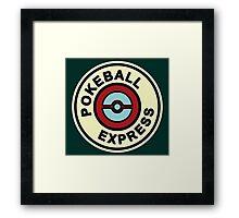 Ball Express Framed Print