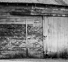 Old Barn Sliding Door  by Mike Koenig
