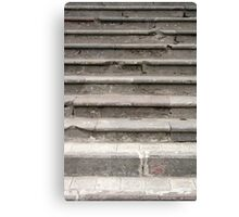 Cement Stairs Canvas Print