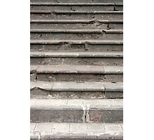 Cement Stairs Photographic Print