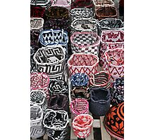 Knit Bags Photographic Print