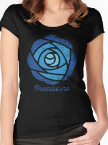 Promise Me Women's Fitted Scoop T-Shirt