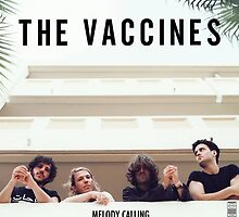 The Vaccines Melody Calling Poster  by gabkoziol