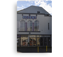 Regent Cinema, Lyme, Dorset.UK Canvas Print