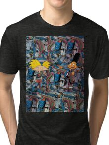 Hey Arnold! With Gerald Cosby Sweaters Tri-blend T-Shirt
