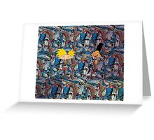 Hey Arnold! With Gerald Cosby Sweaters Greeting Card