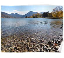 Tegernsee Scenery, late October Poster