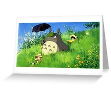 Tonari no Totoro Greeting Card
