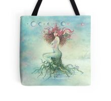 """DECEMBER"" from the series ""Calender Sheets"" Tote Bag"