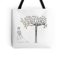 Cinderella and Her Pear Tree Tote Bag