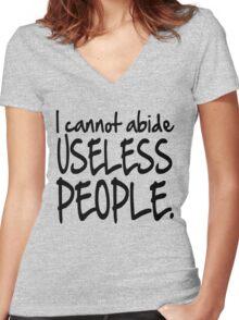 Who Loves Firefly? Women's Fitted V-Neck T-Shirt