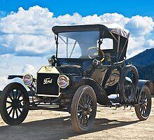 1915 Ford Model T Roadster II by DaveKoontz