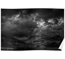 Great Langdale from Blea Tarn Poster