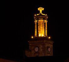 Egin, St Giles at night. by JASPERIMAGE