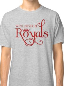 Lorde Inspired - Never Be Royals - Pop Music - Call Me Queen Bee Classic T-Shirt