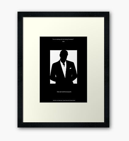 Isaak The Terminator Framed Print