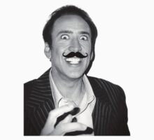 Nicolas Cage Mustache by Thomas Jarry