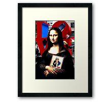 Gioconda Travelling - USA Framed Print