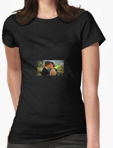 Booth & Bones Wedding Womens Fitted T-Shirt