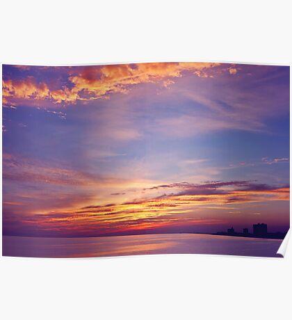 Gulf Sky Poster