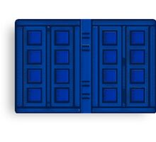 River Song's Journal Canvas Print