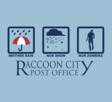 Racoon City Post Office by happylewie