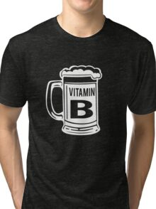 Vitamin B. Beer Tri-blend T-Shirt