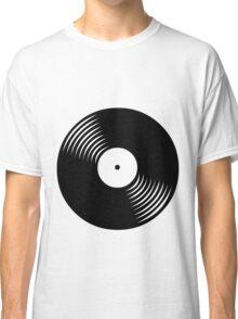 Black Vinyl Classic T-Shirt